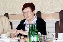 Věra Stichová, předsedkyně oddílu Klubu českých turistů ve Svitavách, informovala o zahájení turistické sezony.