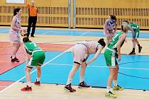 Adfors Basket Seccon Litomyšl vs. UP Olomouc.