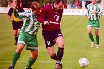 Zdeněk Vacek (11) se v nedělním duelu neprosadil, ale s jeho návratem do sestavy šly svitavské výkony nahoru.
