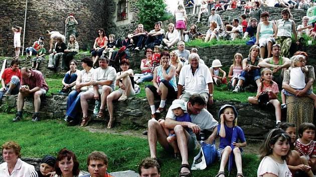 Kulturní akce vždy přílákaly na hrad dostatek návštěvníků, kterých sem ročně zavítá kolem třiceti tisíc.