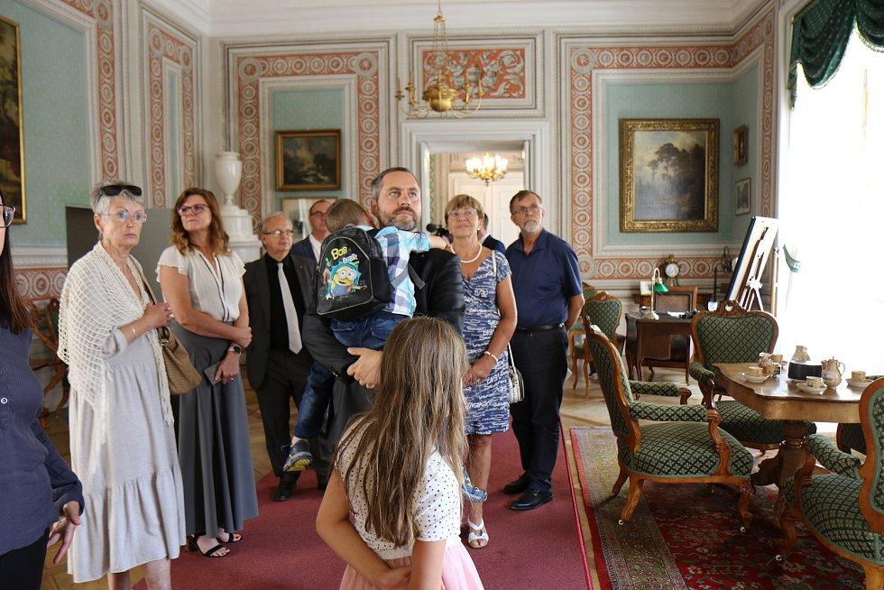 Na zámku v Litomyšli je po 20 letech nová instalace.