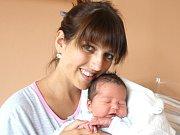 NATÁLIE NOVÁČKOVÁ. Spatřila světlo světa 30. srpna v 10.32 hodin. Vážila 3,95 kilogramu a měřila 52 centimetrů. Tatínek Viktor byl mamince Blance u porodu oporou. Rodina bydlí ve Svitavách.