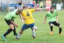 Z utkání Dolní Újezd vs. Luže (0:2)