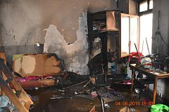 Požár v azylovém domě ve Svitavách