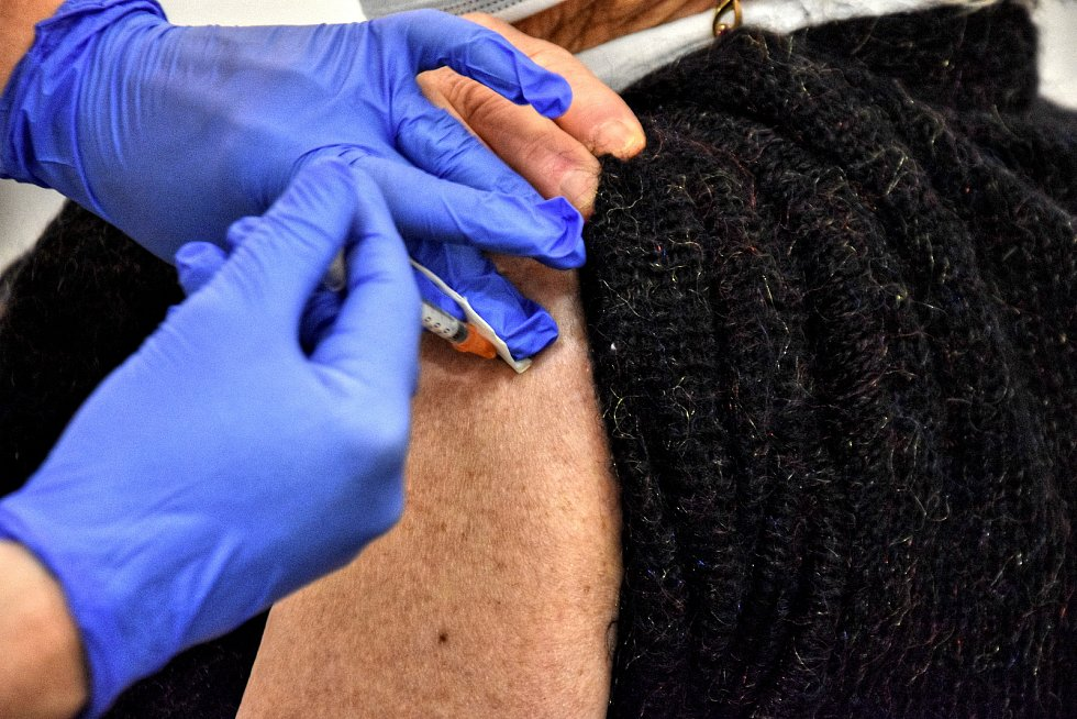 V pátek 22. ledna začalo ve Svitavách očkování seniorů nad 80 let.