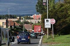 Úsekové radary v Litomyšli se osvědčily. Hříšníků je ale stále hodně, na pokutách vybrali už miliony.