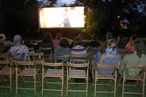 Letní kino Vesmír v Pomezí.