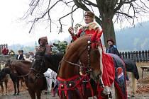 Královská družina ukončila sezonu na hradě Svojanov