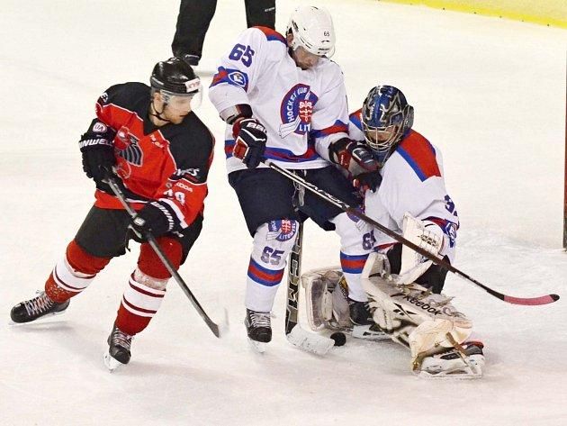 Litomyšlští hokejisté mají po polovině základní části na kontě pouze tři vítězství.