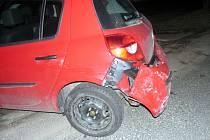 K jediné nehodě za pondělí došlo v Litomyšli při couvání.