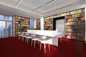 Vizualizace nové knihovny.