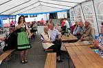 Třetí červnová neděle byla v Horním Újezdu ve znamení koncertu.
