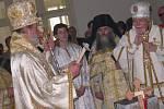 Pravoslavní v sobotu posvětili základní kámen chrámu ve Svitavách.