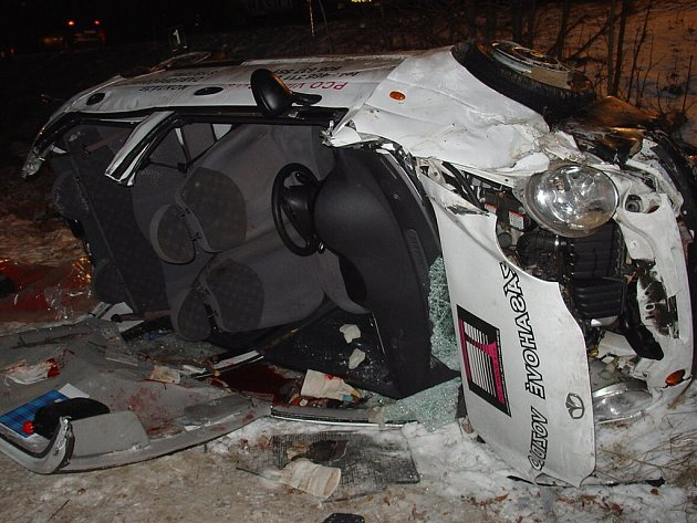 Šestatřicetiletý řidič z Březové nad Svitavou utrpěl těžké zranění.