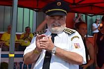 Karel Richter může být jako starosta hasičů na české talenty hodně pyšný. Doma vybojovali řadu medailí.