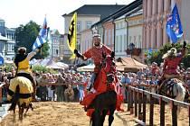 Velký rytířský turnaj na počest Karla IV.