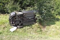 Dopravní nehody u Moravské Třebové.