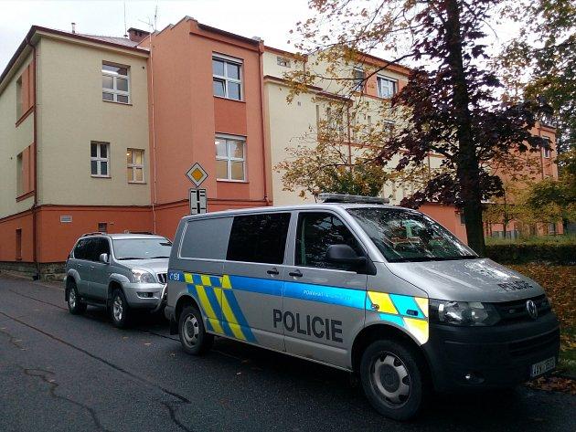 Policie zasahuje vnemocnici vLitomyšli.