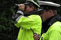 Utajená policejní akce u Březové nad Svitavou.