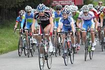 Cyklisté se sjeli na Malou Hanou na 34. ročník etapového klání Grand Prix Matoušek CZ – Závod míru nejmladších.