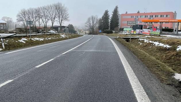 جاده بین Svitavi و Polichka در بهار آسفالت جدیدی پیدا می کند