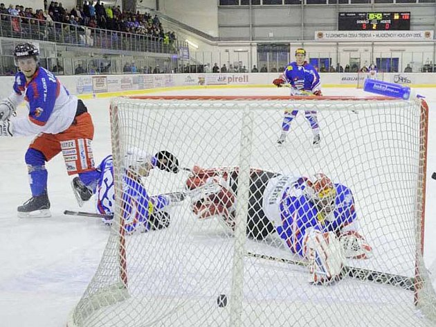 Na co sáhli, to se jim nepovedlo. Moravskotřebovští hokejisté utržili  desetigólový příděl, což se jim mimochodem přihodilo  již podruhé v sezoně. Poprvé takhle selhali v říjnu v Poličce.