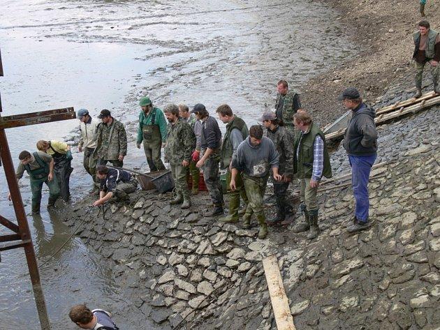 Živo na hrázi u vodní nádrže Smolná na Jevíčsku.  Ilustrační foto.