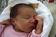 ELIŠKA GROULÍKOVÁ je prvním dítětem Ivany a Pavla z Oldřiše u Poličky. Narodila se 31. července v 16.00 hodin, vážila 2790 gramů a měřila 48 centimetrů.