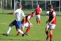 Fotbalová I. A třída (Sokol Dolní Újezd vs. TJ Sokol Rosice nad Labem) - ilustrační foto