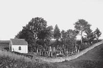 Židovský hřbitov v roce 1926.