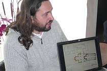 Milan Kuchařík, ředitel archeologické společnosti Labrys.