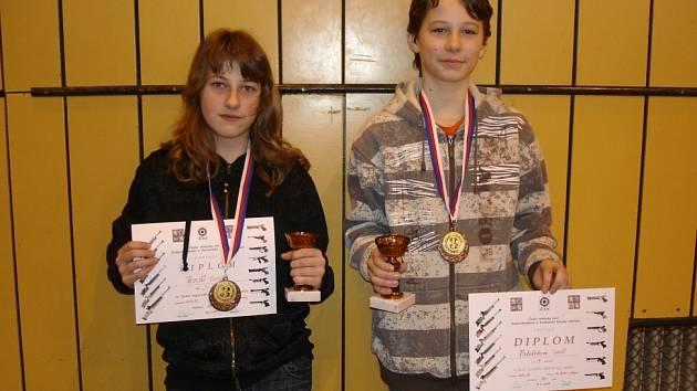 Z finálových závodů střelecké ligy mládeže.