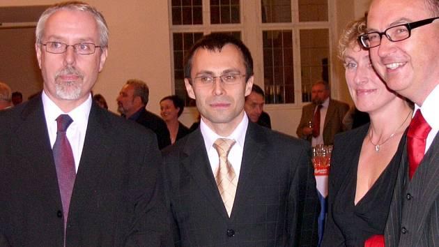 Srdíčkova kravata vícehejtmana Romana Línka.
