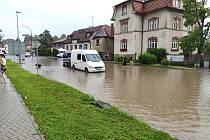 Povodně v Litomyšli