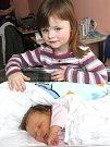 ALICE KRÁTKÁ. Spatřila světlo světa 26. února ve 2.33 hodin ve svitavské porodnici. Vážila 3,75 kilogramu a měřila 51 centimetrů. Tatínek Jaroslav byl mamince Lence u porodu oporou. Doma ve Svitavách se na sestřičku těší i tříletá Deniska.