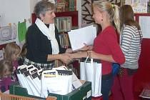 Knihovna odměnila za několikaměsíční snažení celkem dvacet dětí.