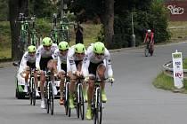 Časovka družstev je atraktivní součástí cyklistických etapových klání a ta v Moravské Třebové tuto charakteristiku opět potvrdila. Pro startující družstva to určitě nebyla jednoduchá projížďka na začátek Czech Cycling Tour. Závodilo se skutečně naplno.