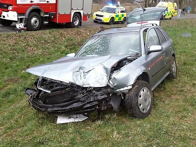 Nehoda u Moravské Třebové.