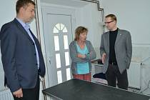 Do záchranné stanice Zelené Vendolí zavítal se svitavským starostou Davidem Šimkem krajský radní Pavel Šotola, zodpovědný za neziskový sektor.