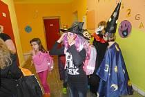Halloween v Dlouhé Loučce.