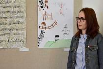 Výstava na litomyšlském gymnáziu, která připomíná návštěvu studentů na Ukrajině
