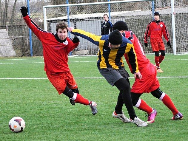Střetnutí mezi Svitavami a Českou Třebovou mělo oboustranně kvalitní parametry. Nechyběly pěkné fotbalové momenty ani zdravá agresivita v osobních soubojích.