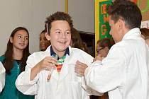 Slavnostní otevření nové učebny na Základní škole U Školek.