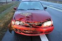Nehoda v Janově.