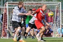 Qanto Cup 2013: Velkého úspěchu dosáhl výběr Polička 89. Dokráčel mezi čtyři nejlepší, tam sice nestačil na favorita, ale boj o třetí místo zvládl.