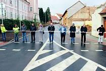 Rekonstruovaná ulice slavnostně otevřena