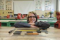 KLEMPÍŘKA Zita Zouharová je podle učitelů šikovná a o nabídky práce po dokončení školy nebude mít nouzi.
