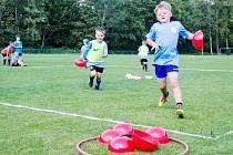 Aktivity na kempu se neomezovaly pouze na fotbal a sport. Dobrá nálada ze všech účastníků jenom sršela.