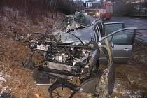 Smrtelná nehoda na silnici I/35 u Litomyšle.