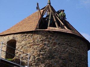 Rekonstrukce hradeb v Poličce